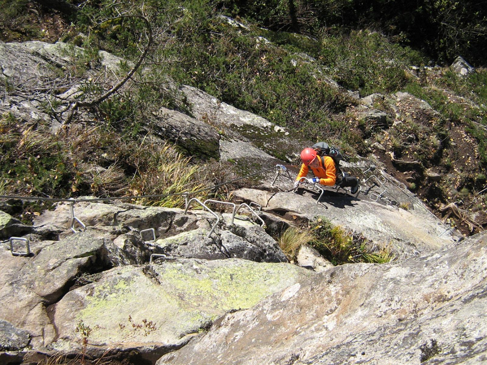 Klettersteig Nasenwand : 07. november 2009 nasenwand klettersteig
